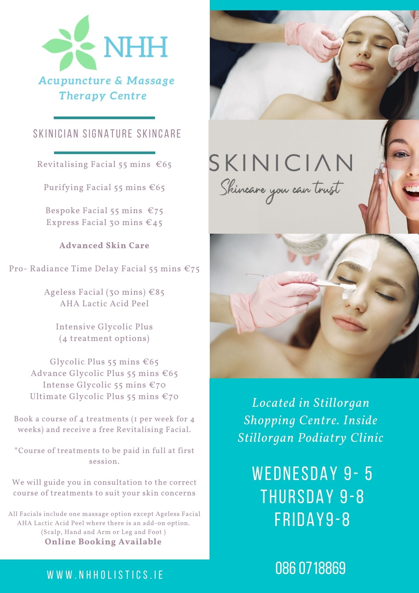 Book a Treatment Now